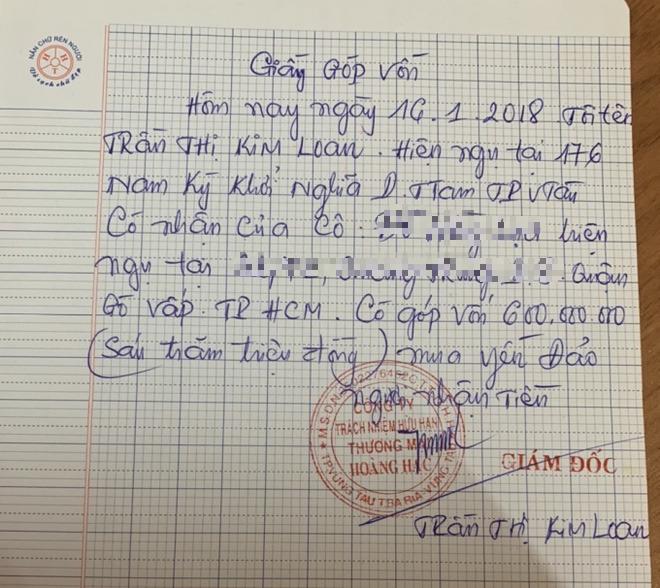 Người tố cáo vợ nguyên GĐ Sở Nội vụ Vũng Tàu: Bà Loan nói có nhiều đất, đang làm mỏ cát hàng trăm tỷ đồng - Ảnh 1.
