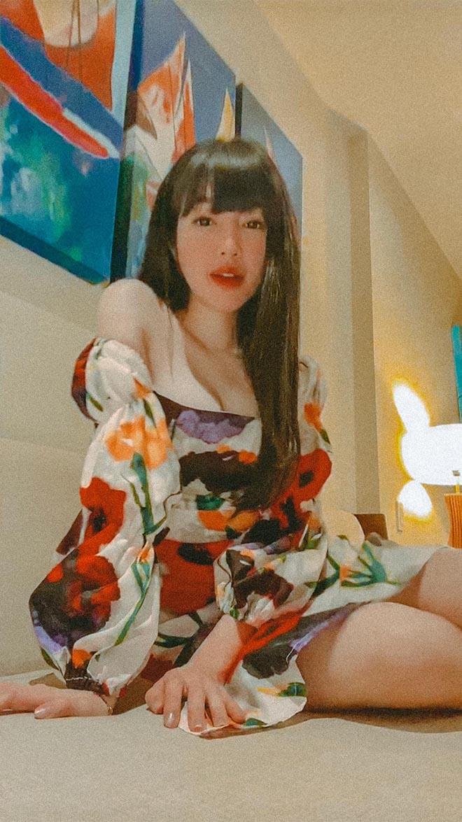Elly Trần tung ảnh diện nội y nóng bỏng  - Ảnh 9.