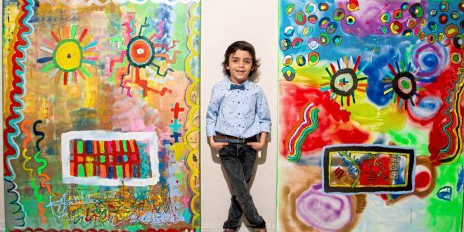 Thần đồng hội họa nhí từng được so sánh với Picasso và những bức tranh trừu tượng sở hữu mức giá trên trời - Ảnh 3.