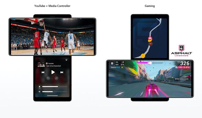 LG ra mắt điện thoại màn hình xoay, có thể sử dụng như Gimbal - Ảnh 2.