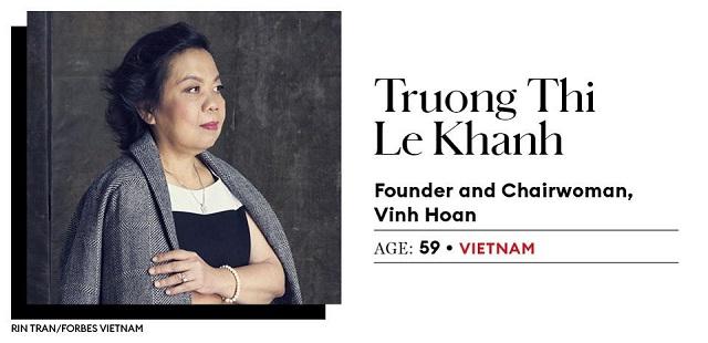 Việt Nam có 2 đại diện lọt top 25 nữ doanh nhân quyền lực châu Á của Forbes - Ảnh 1.