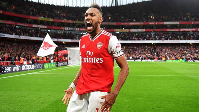 CHÍNH THỨC: Arsenal gia hạn hợp đồng với Aubameyang - Ảnh 1.