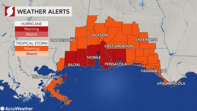 2 dự báo đáng sợ từ trận bão đang khuấy đảo Bờ Vịnh Mỹ: 10 triệu người được cảnh báo - Ảnh 3.