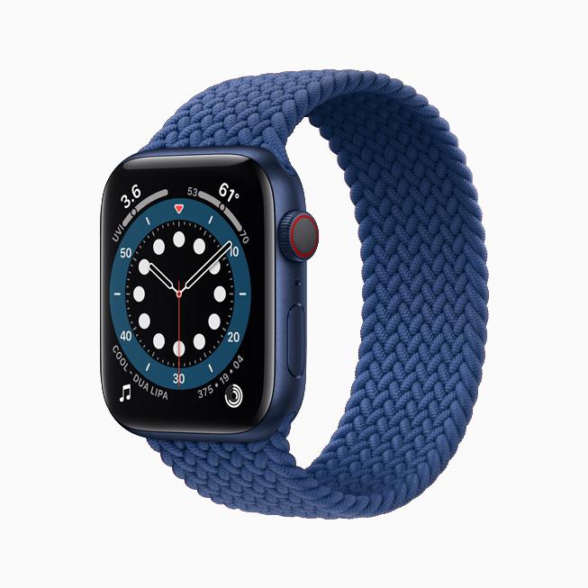 Apple Watch Series 6 ra mắt: Thiết kế không đổi, đo oxy trong máu, nhiều màu sắc và dây đeo mới, giá từ 399 USD - Ảnh 7.