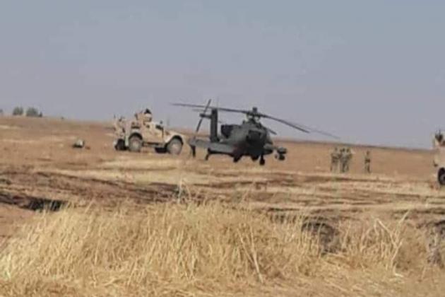 Quân đội Mỹ truy cản đoàn xe quân sự Nga ở Syria - Hai bên điều trực thăng, đối đầu căng thẳng - Ảnh 2.