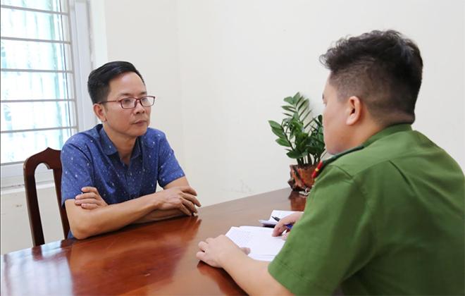 Khởi tố Phó ban Tuyên giáo Huyện ủy Tam Đảo về hành vi vu khống - Ảnh 1.
