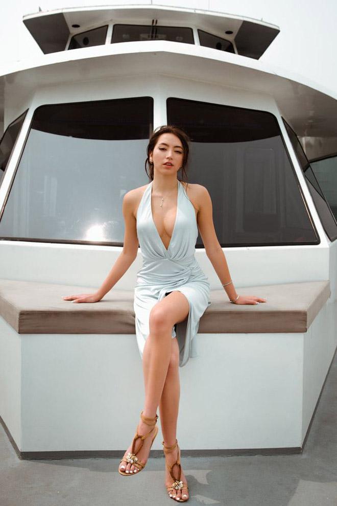 Vẻ nóng bỏng gây chú ý ở tuổi 21 của con gái ruột danh ca Thanh Hà - Ảnh 3.
