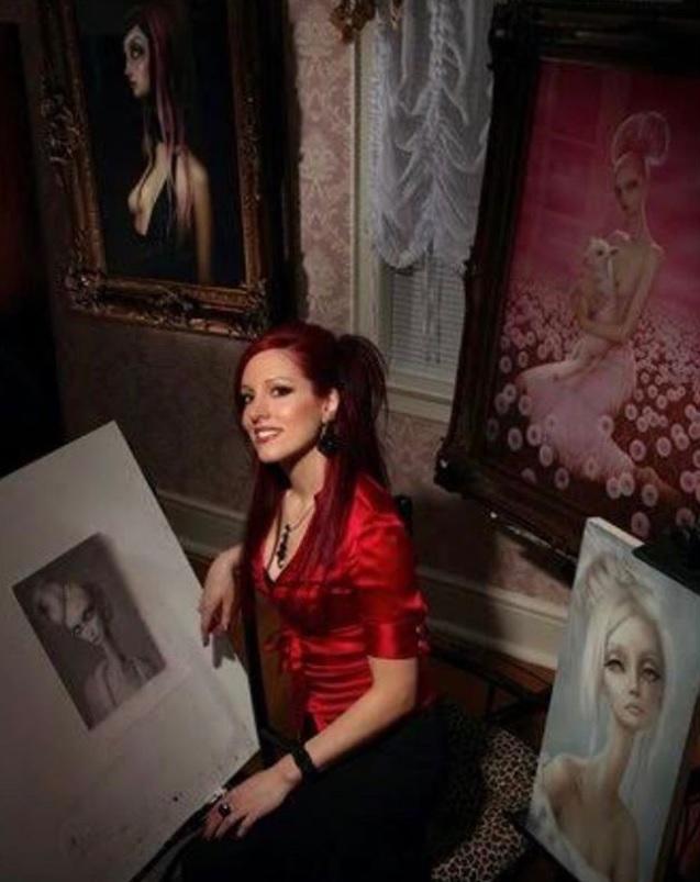 Căn bệnh hiếm gặp ẩn dưới làn da của nữ họa sĩ xinh đẹp: Tôi thấy mình như chết dần... - Ảnh 2.