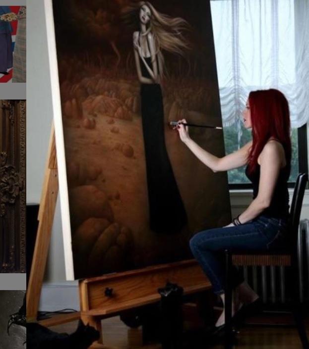 Căn bệnh hiếm gặp ẩn dưới làn da của nữ họa sĩ xinh đẹp: Tôi thấy mình như chết dần... - Ảnh 9.