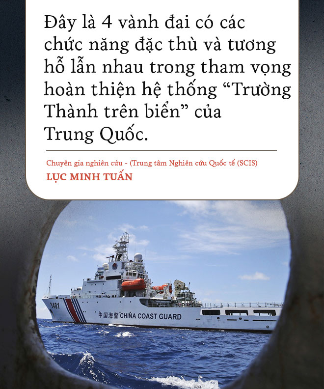 Trường Thành trên biển Đông phi pháp của Trung Quốc: Càng xây càng khó giữ - Ảnh 1.