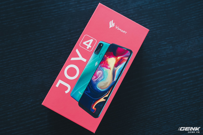 Trên tay Vsmart Joy 4: Snapdragon 665, pin 5000mAh, 4 camera, giá từ 3.29 triệu đồng - Ảnh 1.
