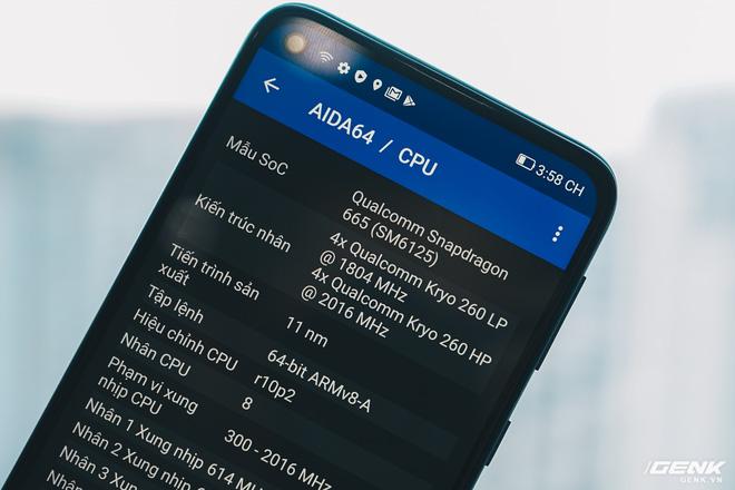 Trên tay Vsmart Joy 4: Snapdragon 665, pin 5000mAh, 4 camera, giá từ 3.29 triệu đồng - Ảnh 8.