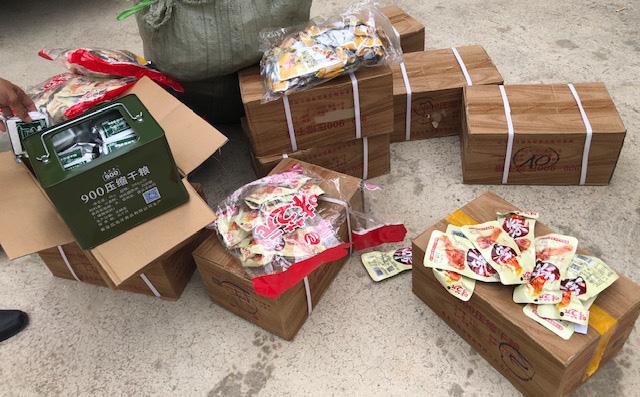 Phát hiện 2.000 chân gà không rõ nguồn gốc nhập lậu vào Việt Nam