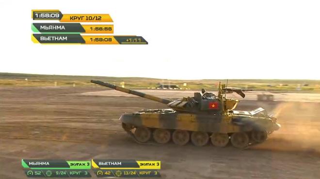 Tank Biathlon 2020: Lào, Tajikistan bắn kém, diễn biến trận bán kết 2 có lợi cho Việt Nam - Ảnh 2.