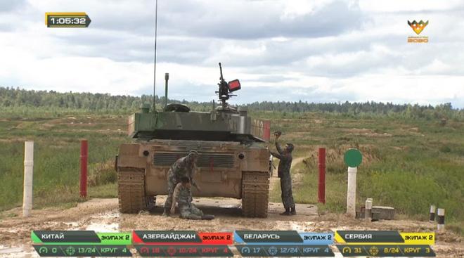 Đại tá Nguyễn Khắc Nguyệt: Xe tăng hỏng, lính Trung Quốc ngất xỉu, bị Belarus hạ gục ở bán kết Tank Biathlon 2020 - Ảnh 5.