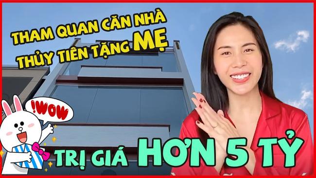 Sao Việt báo hiếu cha mẹ: Toàn mua nhà, mua xe tiền tỷ nhưng chất nhất vẫn là đại gia Lý Nhã Kỳ tặng mẹ hẳn resort - Ảnh 4.