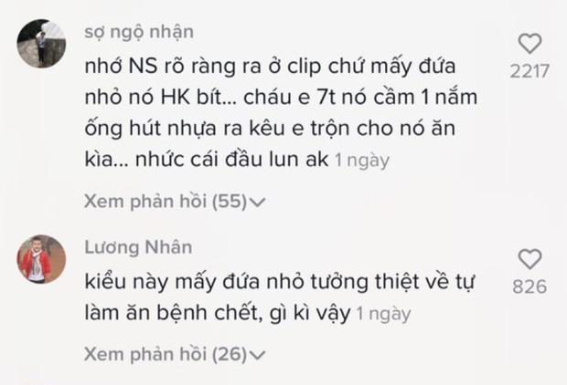 SỐC: TikToker Trung Quốc làm clip ăn ống hút nhặt từ thùng rác, cư dân mạng bình luận đã có trẻ con đòi bắt chước làm theo? - Ảnh 7.