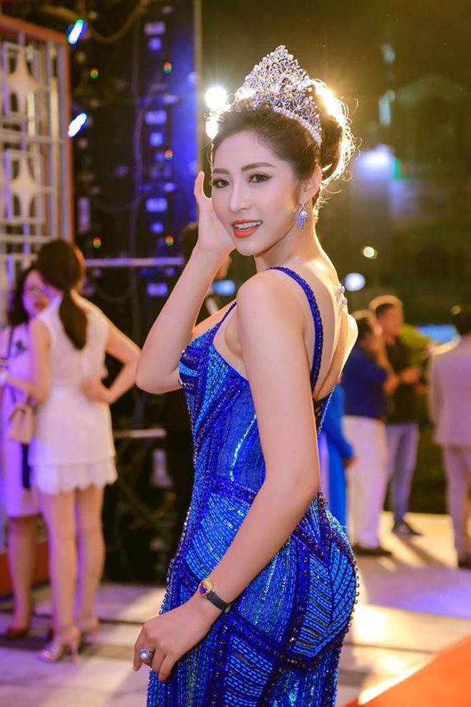 Phản ứng của hoa hậu Đặng Thu Thảo khi bị chê lấy chồng đại gia vẫn mặc xuề xòa - Ảnh 1.