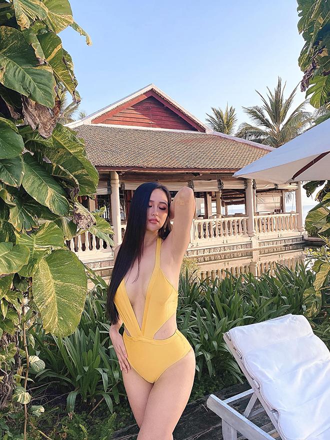 Vẻ nóng bỏng, nuột nà tuổi 32 của hoa hậu Mai Phương Thúy - Ảnh 1.