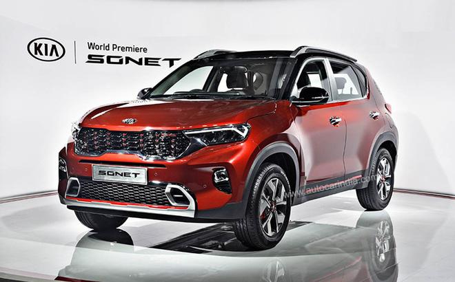 [Ô tô Ấn Độ] Kia Sonet giá từ 211 triệu được trang bị những tiện nghi gì? - Ảnh 1.