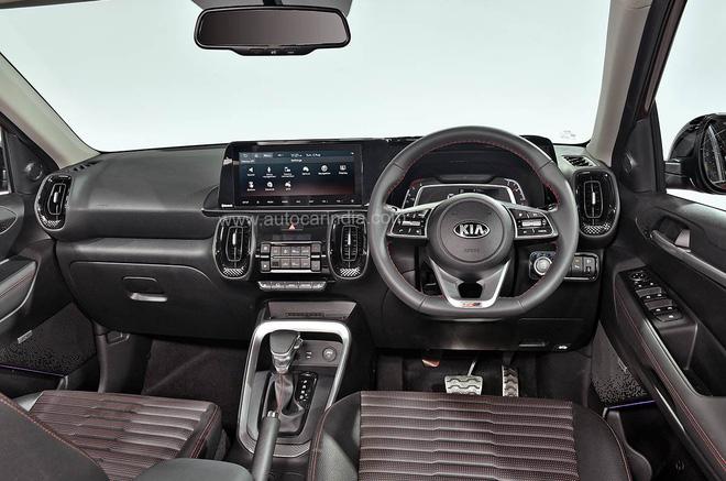 [Ô tô Ấn Độ] Kia Sonet giá từ 211 triệu được trang bị những tiện nghi gì? - Ảnh 3.