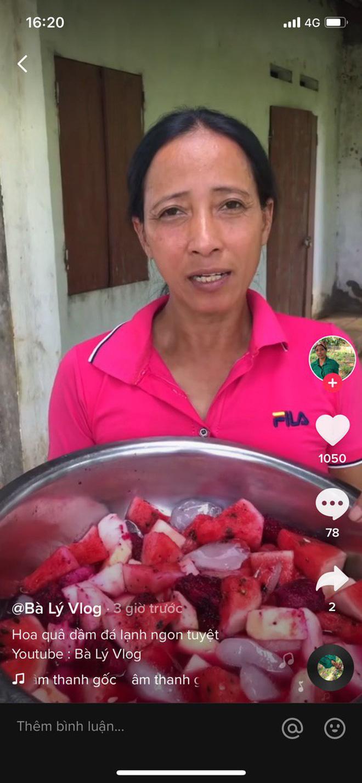 Bà Lý Vlog tiếp tục ra video sau tuyên bố giải nghệ, netizen bình luận: Chắc bà học theo Quang Hải - Huỳnh Anh đúng không? - Ảnh 4.