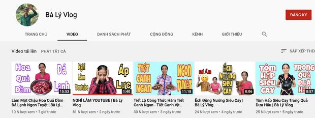 Bà Lý Vlog tiếp tục ra video sau tuyên bố giải nghệ, netizen bình luận: Chắc bà học theo Quang Hải - Huỳnh Anh đúng không? - Ảnh 6.