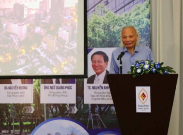 Giáo sư Nguyễn Mại: Thị trường bất động sản năm nay suy giảm, ảnh hưởng đến 50 ngành liên quan - Ảnh 1.