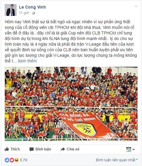 [Hồi ức] Màn đối thoại gây xôn xao bóng đá Việt & cái kết dở dang của Công Vinh tại TP.HCM - Ảnh 4.
