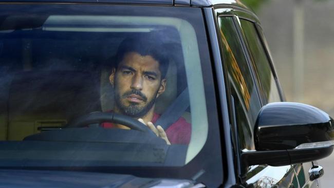 Rời Barcelona sang Atletico Madrid, Luis Suarez khóc nức nở - Ảnh 1.