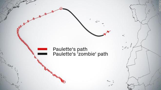 Phát hiện một cơn bão nhiệt đới zombie vừa bất ngờ sống dậy trên Đại Tây Dương - Ảnh 3.