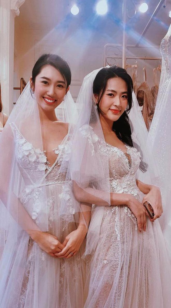 Thấy Thuý Ngân diện váy cưới gợi cảm, dân tình nóng lòng réo gọi Trương Thế Vinh ngay và luôn! - Ảnh 2.