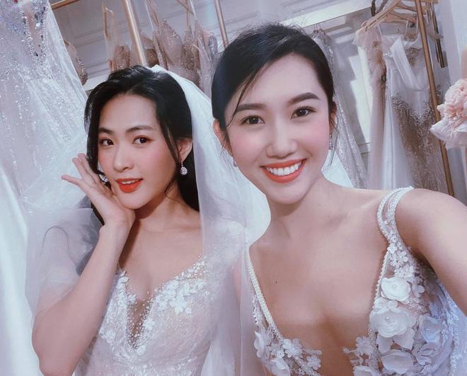 Thấy Thuý Ngân diện váy cưới gợi cảm, dân tình nóng lòng réo gọi Trương Thế Vinh ngay và luôn! - Ảnh 3.