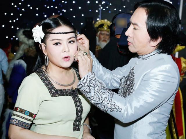 Vợ kém 11 tuổi của Kim Tử Long: Bị nhắn tin chửi bới, nói giật chồng, đào mỏ - Ảnh 5.