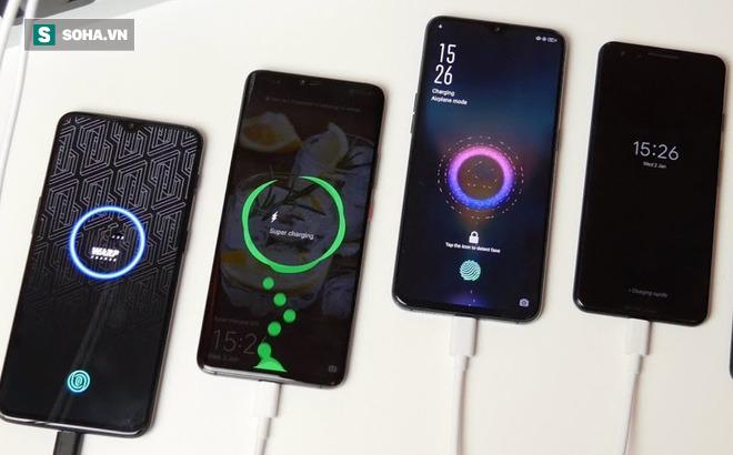 """Loạt smartphone """"xịn"""" sạc siêu nhanh đang """"trượt giá"""" mạnh"""