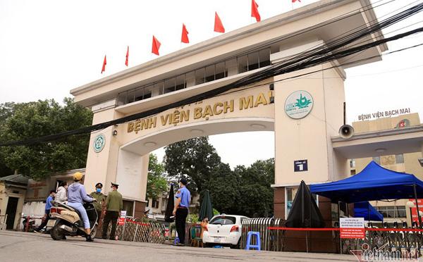 [NÓNG] Bắt nguyên Giám đốc Bệnh viện Bạch Mai Nguyễn Quốc Anh cùng 2 đồng phạm