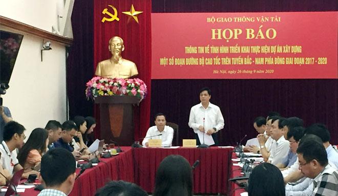Lý do Bộ trưởng GTVT Nguyễn Văn Thể đề nghị Bộ Công an phối hợp khi làm cao tốc Bắc - Nam - Ảnh 1.