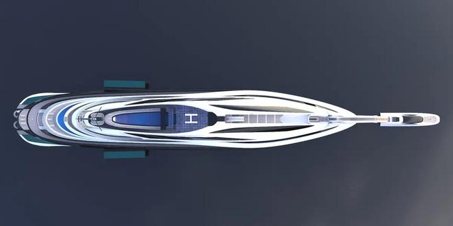 Siêu du thuyền 500 triệu USD này lấy cảm hứng từ anime và có thiết kế trông như một chú thiên nga - Ảnh 12.