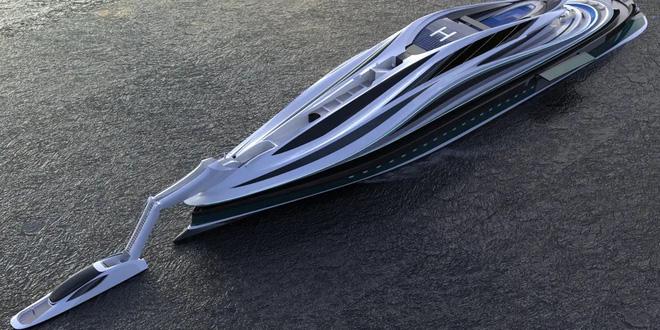 Siêu du thuyền 500 triệu USD này lấy cảm hứng từ anime và có thiết kế trông như một chú thiên nga - Ảnh 4.
