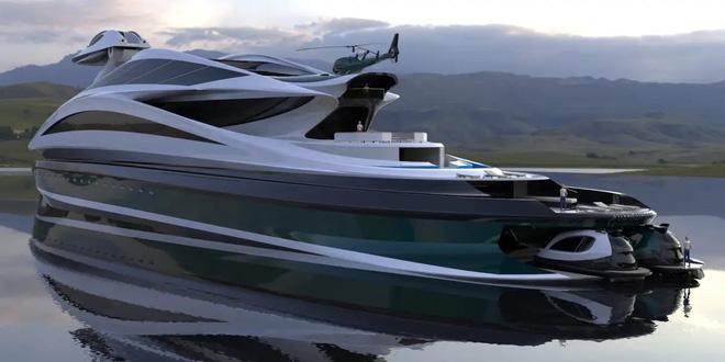 Siêu du thuyền 500 triệu USD này lấy cảm hứng từ anime và có thiết kế trông như một chú thiên nga - Ảnh 8.