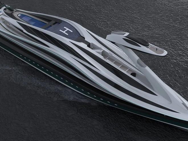 Siêu du thuyền 500 triệu USD này lấy cảm hứng từ anime và có thiết kế trông như một chú thiên nga - Ảnh 10.