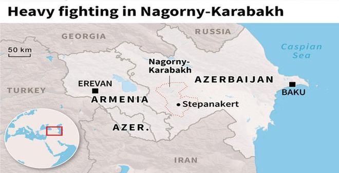 Armenia và Azerbaijan trên bờ vực xung đột toàn diện: 19 máy bay bị bắn rơi, 10 tăng - thiết giáp bị phá hủy? - Ảnh 1.