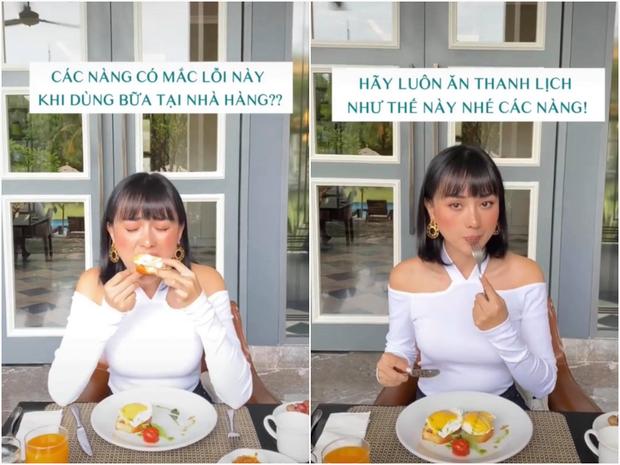 Gái đẹp cưới chồng giàu hướng dẫn quy cách ăn uống, đi đứng để lọt vào mắt đại gia - ảnh 1