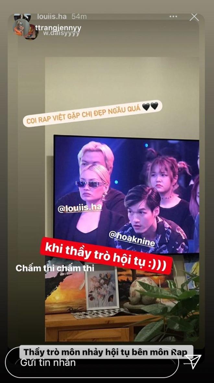 Rap Việt xuất hiện khán giả mặt cool ngầu như 'thanh tra dự giờ', hoá ra là gái xinh đình đám trên MXH - ảnh 2