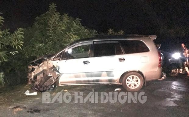 Xe Innova tông vào đoàn xe máy đi ăn cưới về làm 9 người bị thương: Lái xe khai có sử dụng rượu, bia - Ảnh 1.