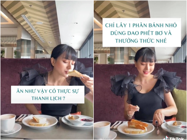 Gái đẹp cưới chồng giàu hướng dẫn quy cách ăn uống, đi đứng để lọt vào mắt đại gia - ảnh 3