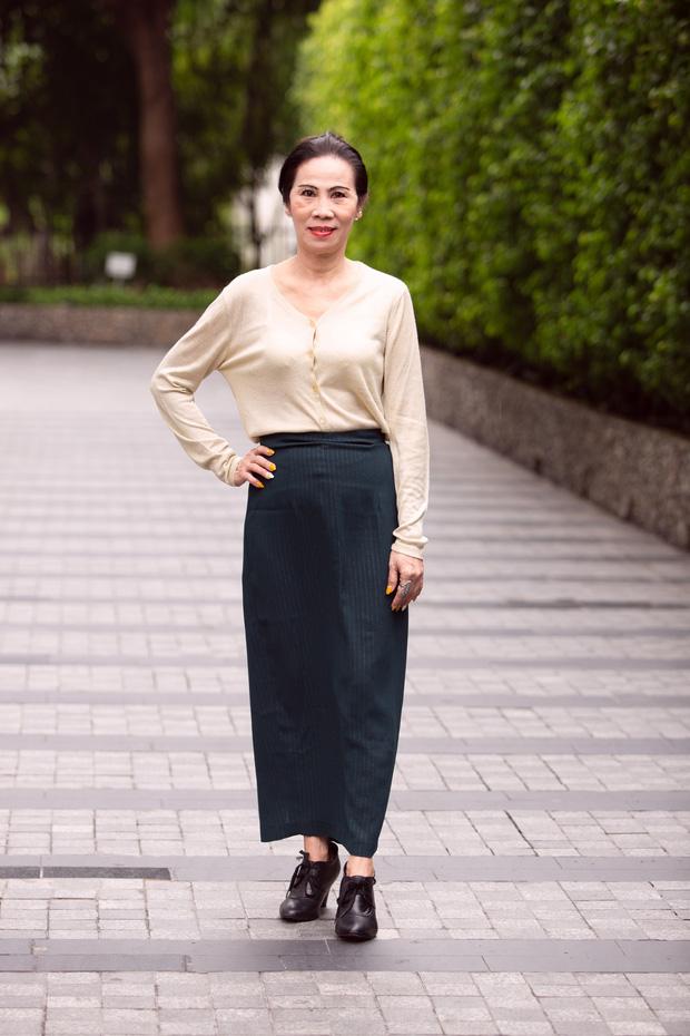 Thí sinh U60 gây chú ý khi xuất hiện tại vòng sơ khảo Hoa hậu Việt Nam và nhan sắc đời thực - Ảnh 2.