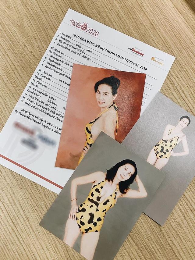 Thí sinh U60 gây chú ý khi xuất hiện tại vòng sơ khảo Hoa hậu Việt Nam và nhan sắc đời thực - Ảnh 4.