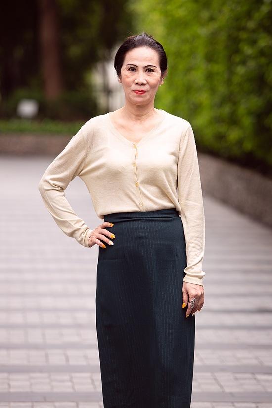 Thí sinh U60 gây chú ý khi xuất hiện tại vòng sơ khảo Hoa hậu Việt Nam và nhan sắc đời thực - Ảnh 3.