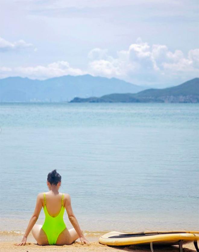 Kỳ Duyên tung ảnh bikini gợi cảm khi du lịch cùng Minh Triệu - Ảnh 6.